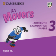 CAMBRIDGE ENGLISH YOUNG LEARNERS 3 FOR REVISED EXAM MOVERS  AUDIO CDS (2)