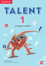 TALENT 1 STUDENT'S BOOK