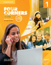 FOUR CORNERS SECOND EDITION LEVEL 1 STUDENT'S BOOK WITH SELF-STUDY AND ONLINE WORKBOOK PACK
