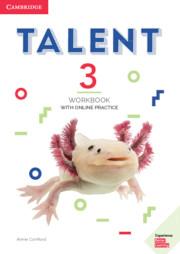TALENT 3 WORKBOOK WITH ONLINE PRACTICE
