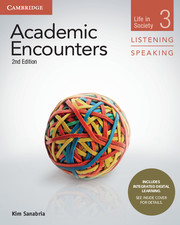 ACADEMIC ENCOUNTERS 2ND EDITION 3 STUDENT'S BOOK LISTENING AND SPEAKING WITH INTEGRATED DIGITAL LEAR