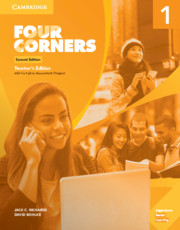 FOUR CORNERS SECOND EDITION LEVEL 1 TEACHER'S EDITION WITH FULL ASSESSMENT PROGRAM