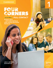 FOUR CORNERS SECOND EDITION LEVEL 1 FULL CONTACT WITH SELF-STUDY