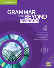 GRAMMAR AND BEYOND ESSENTIALS 4 STUDENT?S BOOK WITH ONLINE WORKBOOK