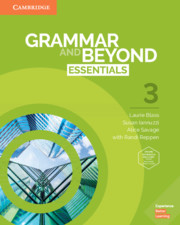 GRAMMAR AND BEYOND ESSENTIALS 3 STUDENT?S BOOK WITH ONLINE WORKBOOK