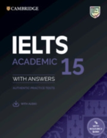 IELTS 15 ACADEMIC STUDENT'S BOOK WITH ANSWERS WITH AUDIO WITH RESOURCE BANK