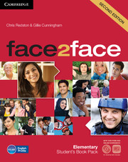 FACE2FACE SECOND EDITION ELEMENTARY STUDENT'S BOOK WITH DVD-ROM AND ONLINE WORKBOOK PACK