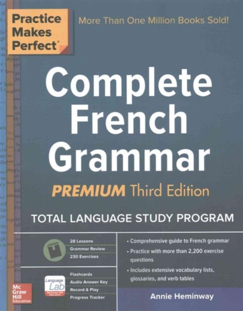 PRACTICE MAKES PERFECT: COMPLETE FRENCH GRAMMAR, PREMIUM 3 REV ED