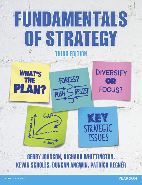 FUNDAMENTALS OF STRATEGY THIRD EDITION