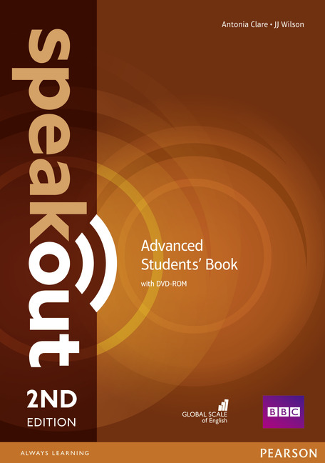 SPEAKOUT 2ND EDITION ADVANCED COURSEBOOK WITH DVD ROM