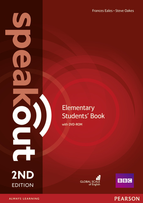 SPEAKOUT 2ND EDITION ELEMENTARY STUDENTS' BOOK WITH DVD-ROM