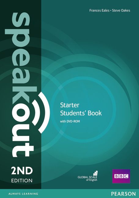 SPEAKOUT 2ND EDITION STARTER COURSEBOOK WITH DVD ROM