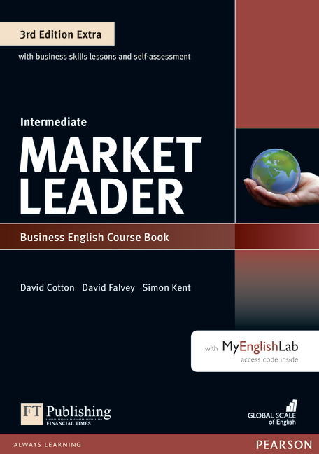 MARKET LEADER 3RD EDITION EXTRA INTERMEDIATE COURSE BOOK + DVD-ROM