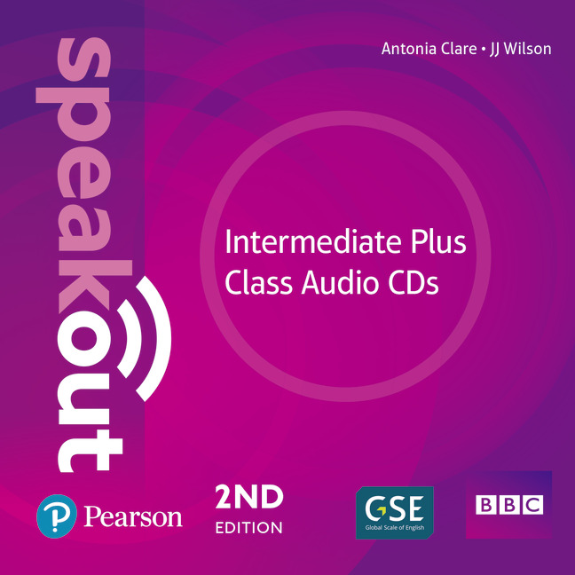 SPEAKOUT 2ND EDITION INTERMEDIATE PLUS CLASS CDS