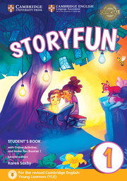 STORYFUN FOR STARTERS SECOND EDITION LEVEL 1 STUDENT'S BOOK WITH ONLINE ACTIVITIES AND HOME FUN BOOK