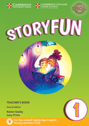 STORYFUN FOR STARTERS SECOND EDITION LEVEL 1 TEACHER'S BOOK WITH AUDIO