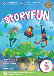 STORYFUN 5 STUDENT'S BOOK WITH ONLINE ACTIVITIES AND HOME FUN BOOKLET 2ND EDITION