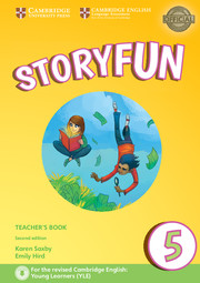 STORYFUN 5 TEACHER'S BOOK WITH AUDIO 2ND EDITION
