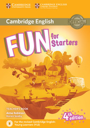 FUN FOR STARTERS 4TH EDITION TEACHER'S BOOK WITH DOWNLOADABLE AUDIO
