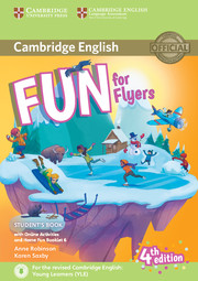 FUN FOR FLYERS 4TH EDITION STUDENT'S BOOK WITH HOME FUN BOOKLET AND ONLINE ACTIVITIES