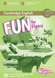 FUN FOR FLYERS FOURTH EDITION TEACHER'S BOOK WITH DOWNLOADABLE AUDIO