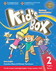 KID?S BOX UPDATED SECOND EDITION 2 PUPIL'S BOOK
