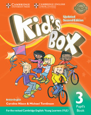 KID?S BOX UPDATED SECOND EDITION 3 PUPIL'S BOOK