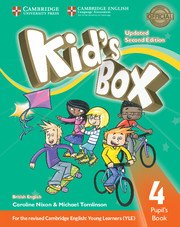 KID?S BOX UPDATED SECOND EDITION 4 PUPIL'S BOOK