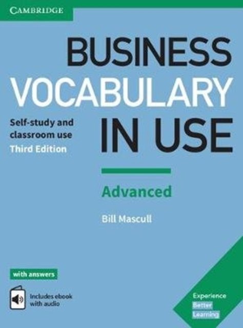 BUSINESS VOCABULARY IN USE ADVANCED 3RD EDITION BOOK WITH ANSWERS AND ENHANCED EBOOK
