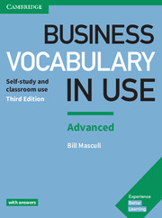 BUSINESS VOCABULARY IN USE 3RD ED. ADVANCED WITH ANSWERS