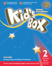 KID?S BOX UPDATED SECOND EDITION 2 ACTIVITY BOOK WITH ONLINE RESOURCES