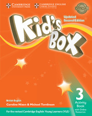 KID?S BOX UPDATED SECOND EDITION 3 ACTIVITY BOOK WITH ONLINE RESOURCES