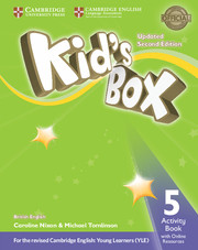 KID?S BOX UPDATED SECOND EDITION 5 ACTIVITY BOOK WITH ONLINE RESOURCES