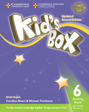 KID?S BOX UPDATED SECOND EDITION 6 ACTIVITY BOOK WITH ONLINE RESOURCES