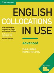 ENGLISH COLLOCATIONS IN USE ADVANCED 2ND EDITION WITH ANSWERS