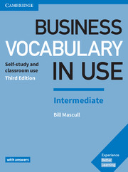 BUSINESS VOCABULARY IN USE 3RD ED. INTERMEDIATE BOOK WITH ANSWERS