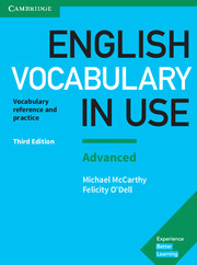 ENGLISH VOCABULARY IN USE ADVANCED 3RD EDITION WITH ANSWERS