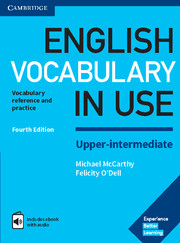 ENGLISH VOCABULARY IN USE UPPER-INTERMEDIATE 4TH EDITION WITH ANSWERS AND ENHANCED EBOOK