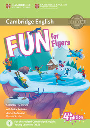 FUN FOR FLYERS FOURTH EDITION STUDENT'S BOOK WITH AUDIO WITH ONLINE ACTIVITIES