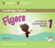 CAMBRIDGE ENGLISH YOUNG LEARNERS 1 FOR REVISED EXAM FROM 2018 FLYERS AUDIO CDS (2)