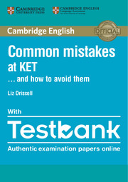 TESTBANK CAMBRIDGE ENGLISH KET WITH COMMON MISTAKES