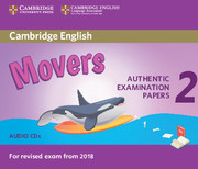 CAMBRIDGE ENGLISH YOUNG LEARNERS 2 FOR REVISED EXAM FROM 2018 - MOVERS AUDIO CDS (2)