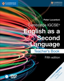 CAMBRIDGE IGCSE? ENGLISH AS A SECOND LANGUAGE 5TH EDITION TEACHER?S BOOK WITH AUDIO CD AND DVD