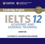 CAMBRIDGE IELTS 12 ACADEMIC AUDIO CDS (2)