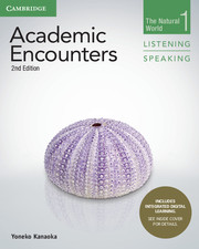 ACADEMIC ENCOUNTERS 2ND ED. 1 STUDENT'S BOOK LISTENING AND SPEAKING WITH INTEGRATED DIGITAL LEARNING
