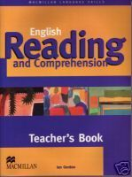 INTERMEDIATE READING COMPREHENSION  1-3 TEACHER'S BOOK