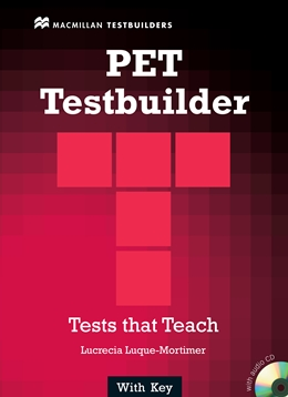 PET TESTBUILDER WITH KEY & AUDIO CD