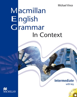 MACMILLAN ENGLISH GRAMMAR IN CONTEXT INTERMEDIATE STUDENT'S BOOK (WITH KEY) CD ROM PACK