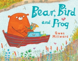 BEAR, BIRD AND FROG