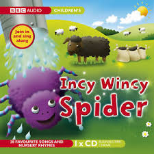 CD - INCY WINCY SPIDER